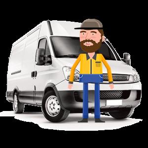 alquiler de furgoneta con conductor